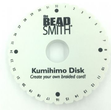 Beadsmith kumihimo Disk 15cm / 6 inch by bead smith kd004 extra thick 20mm
